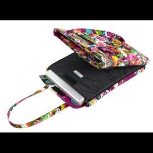 Vera Bradley laptop tote bag / Va Va Bloom